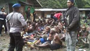 Papuans flee brutal military crackdown