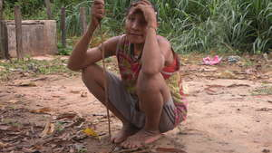 Uncontacted Amazon Indians 'surrounded by loggers' make contact