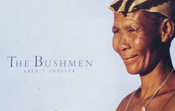 """Survival's 'Bushmen aren't forever' campaign led to supermodel Iman quitting her contract with diamond company De Beers over the persecution of the Bushmen. """