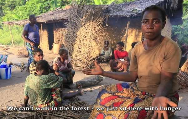 Bayaka 'Pygmies' and Baiga speak out about the abuse by wildlife guards, and harassment to leave their lands.