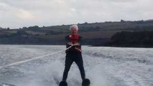 Attempt at triple world record: Oldest, youngest & fastestwater-ski the English Channel