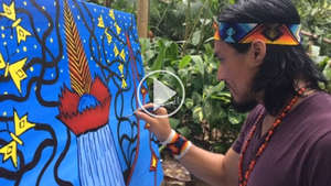 "Watch a video of Nixiwaka Yawanawá and John Dyer talking about the ""Spirit of the Rainforest"" project."