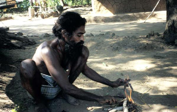 Seitdem die Wanniyala-Aetto von der Regierung Sri Lankas vertrieben wurden, können sie keinen Wanderfeldbau mehr betreiben.