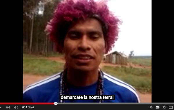I Guarani sono una delle prime tribù coinvolte nel progetto Tribal Voice, e hanno inviato al mondo diversi messaggi molto forti.