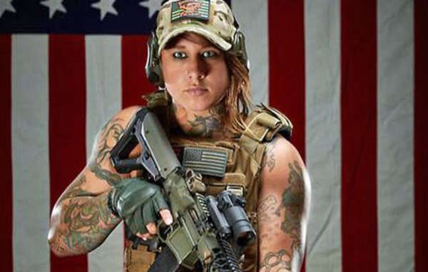 """Kinessa Johnson is one of the former soldiers in VETPAW, an organization which sends veterans to Africa to 'defund' terrorism."""