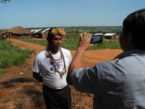 The Guarani are one of the first tribes to speak direct to the world with Survival's new project, Tribal Voice.