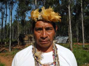 The community of Guarani leader Lide has been brutally attacked by ranchers' gunmen.