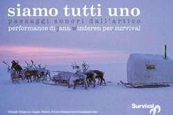 La locandina del concerto di Jana Winderen per Survival. Milano 18 dicembre 2010.