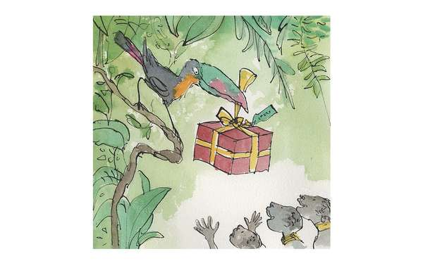 Festive Gift by Quentin Blake.