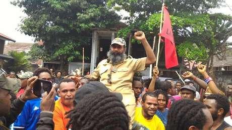 Prominent Papuan prisoner released
