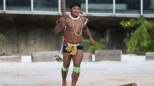 Olympics: Tribal man raises indigenous cause as torch reaches Brazil