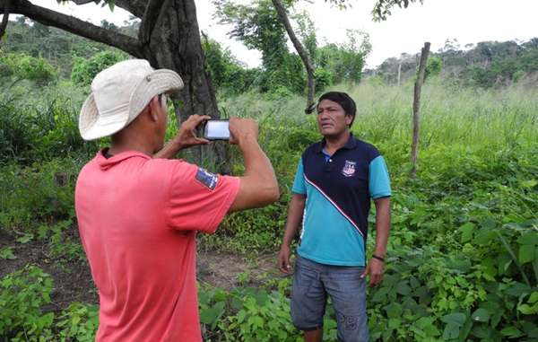 """With support from Survival, the Guajajara are able to expose illegal logging and threats to their uncontacted neighbors in real time."""
