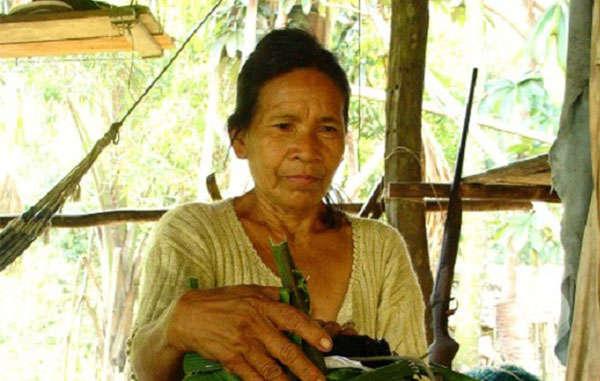 Rosa Andrade era la última hablante de la lengua resígaro
