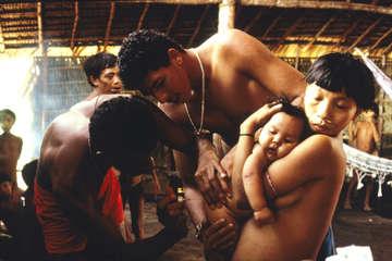 Yanomami, Brasilien