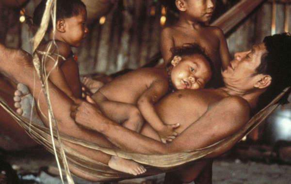 Yanomami family