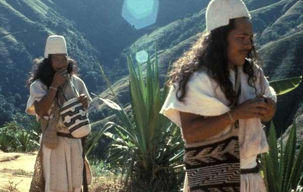 Arhuaco-Indianer, Kolumbien