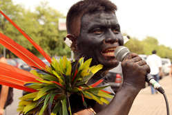 """""""Yanomami-Indianen protesteren tegen chaos in de gezondheidszorg."""""""