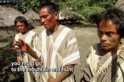 En el programa se tradujo mal en numerosas ocasiones lo que decían los matsigenka.