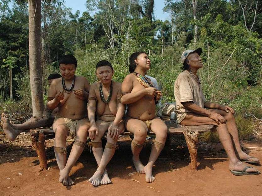 Zoe Tribe Children A tiny amazonian tribe of