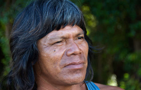 Guarani man. A Guarani community in Brazil could receive $83m for 'moral and material' damages