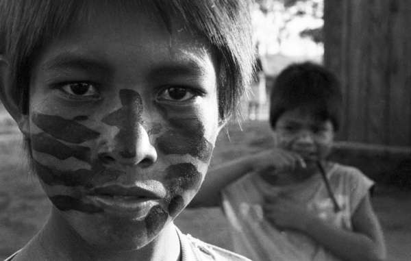 Guarani Indians. Tonico Benites is fighting for the Guarani's right to live on their land.
