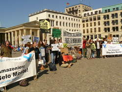Thousands of people protested against the Belo Monte dam in cities worldwide over the last few days