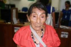 Maria Lucimar Pereira of the Kaxinawá tribe is thought to be the oldest person in the world - she celebrated her 121st birthday in 2011.