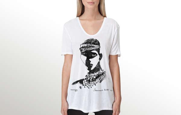 Von Savannah Millers limitiertem Shirt sind nur 60 Exemplare verfügbar.