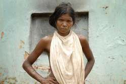 A Dongria Kondh woman.