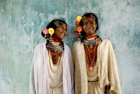 Dongria Kondh girls.