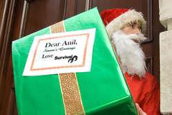 Der Weihnachtsmann beschenkt den Milliardär mit einer Kopie von Survivals Beschwerde an die OECD