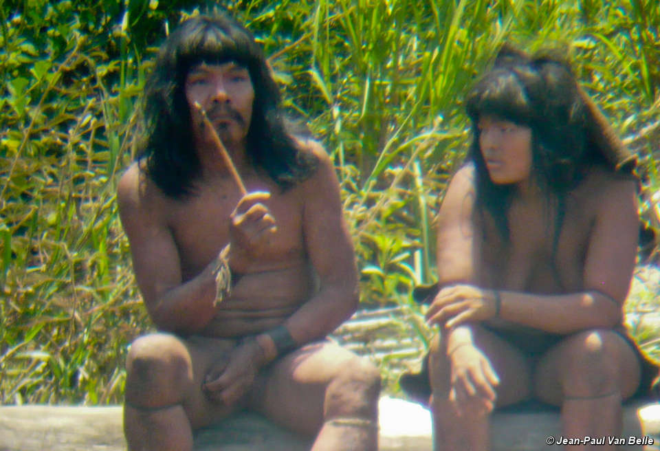 Up close one year later: startling new photos of uncontacted Indians released...