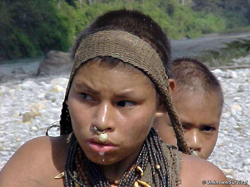 Uma mulher Nanti no sudeste do Peru. © Anon