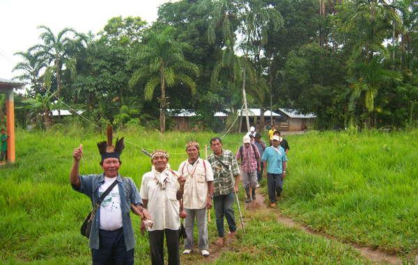 Die Jiw in Kolumbien wurden systematisch von bewaffneten Gruppen aus ihrer Heimat vertrieben