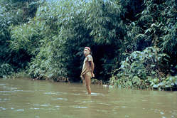 A Nahua man shortly after first contact in 1984. More than 50% of the Nahua died following contact.
