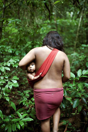 Children of the Awá in Brazil face an uncertain future as the tribe's forest is being cleared rapidly, driving the Awá to the brink of extinction.