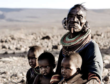 The Turkana people live around lake Turkana in Kenya and Ethiopia. They will be seriously effected by the Gibe lll dam.