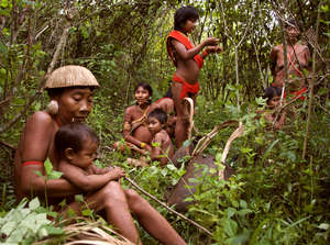 In his new book Jared Diamond says the Yanomami practise 'pre-emptive treachery'.