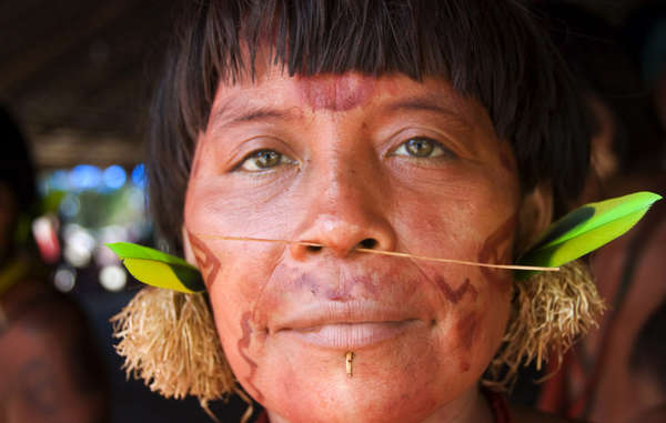 """The Yanomami are celebrating the start of an operation to remove illegal ranchers from their land"""