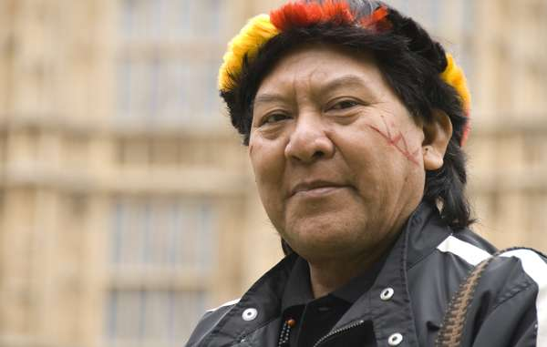 Davi Kopenawa Yanomami says Brazil can save the Awá tribe.