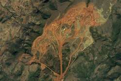 Panchpatmali bauxite mine.