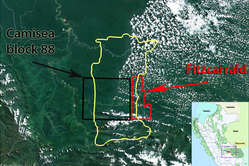 The Fitzcarrald block will reach further into uncontacted tribes' land, cutting their territory in half