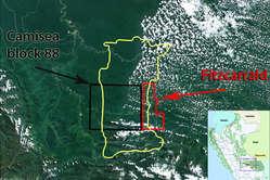 Le bloc de Fitzcarrald s'étendra sur le territoire des Indiens isolés, le coupant en deux.