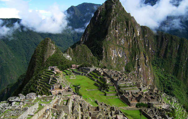 Uncontacted tribes share the same 'Sacred Valley' as Machu Picchu. The ancient site attracts up to 1 million tourists each year.