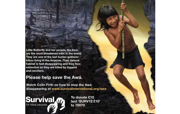 Survival leaflet about Earth's most threatened tribe