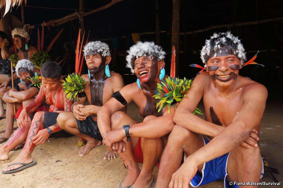 Makan Abu Mayat Keluarga dan tak Percaya Kematian, Suku Yanomami Terancam  Punah Karena Hal Ini - Halaman 2 - Tribunnews.com