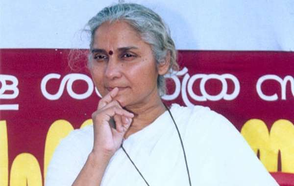 """Medha Patkar had vowed to go on hunger strike until her release."""