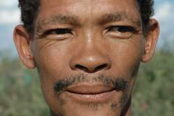 Kebonyeng Kepese has been arrested and beaten for hunting to feed his family.