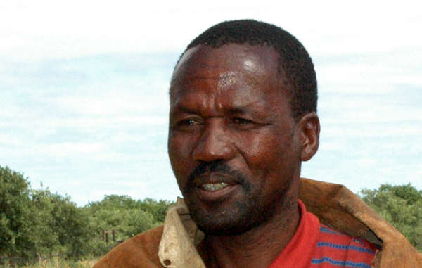 Amogelang Segootsane was stopped by wildlife scouts who confiscated berries and fruit he had collected to feed his family
