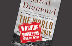 Jared Diamond's book has come under attack for saying that most tribal peoples live in a state of constant warfare.